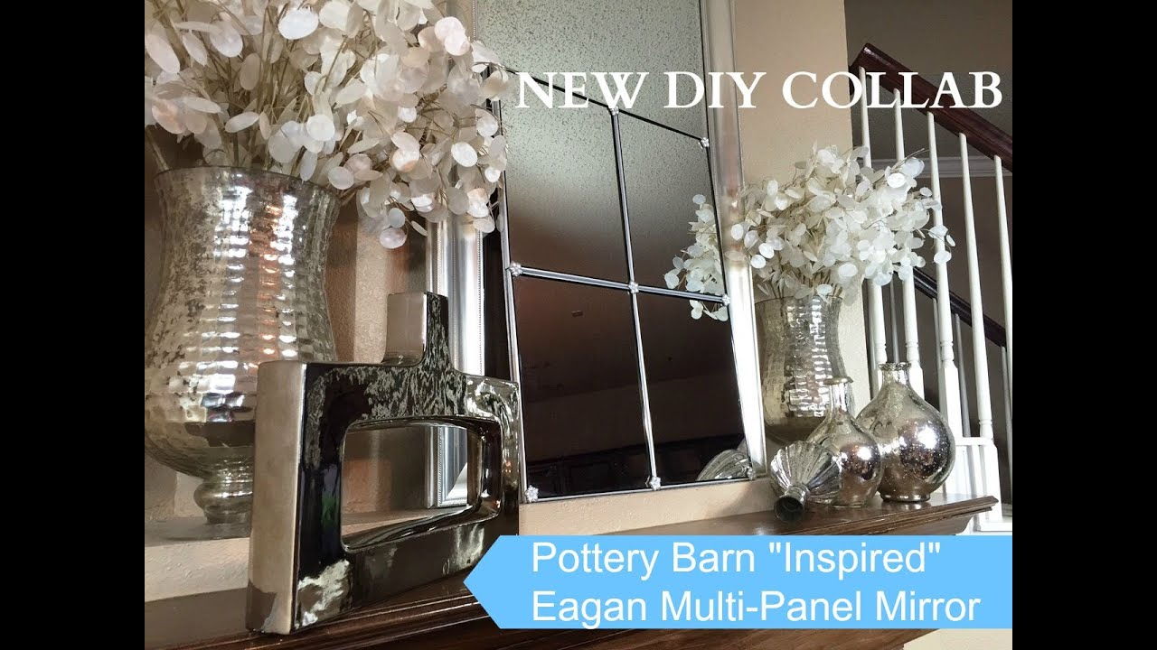 Dollar tree up cycle challenge diy pottery barn inspired for Dollar store mirror craft