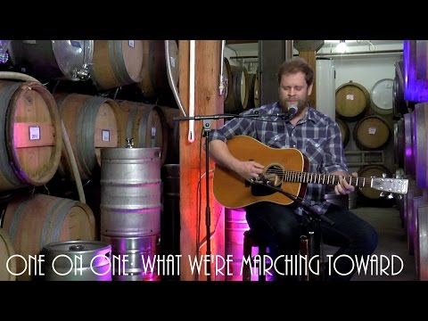 ONE ON ONE: Jeffrey Martin - What We're Marching Toward April 5th, 2017  City Winery New York