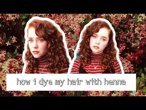 Henna Hair Dye Tutorial | Kate Benson