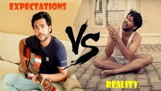 Starting A Youtube Channel | EXPECTATIONS VS REALITY | - Ritik Gurjar