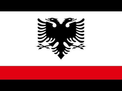 Enseña Naval de Albania - Naval Ensign of Albania
