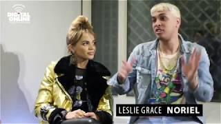 Entrevista a Leslie Grace y Noriel