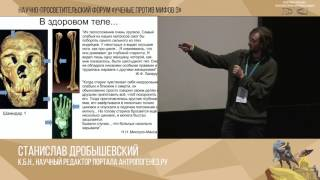 Скачать Ученые против мифов 3 10 С Дробышевский Миф о золотом веке С Кривоплясов От обезьяны к человеку
