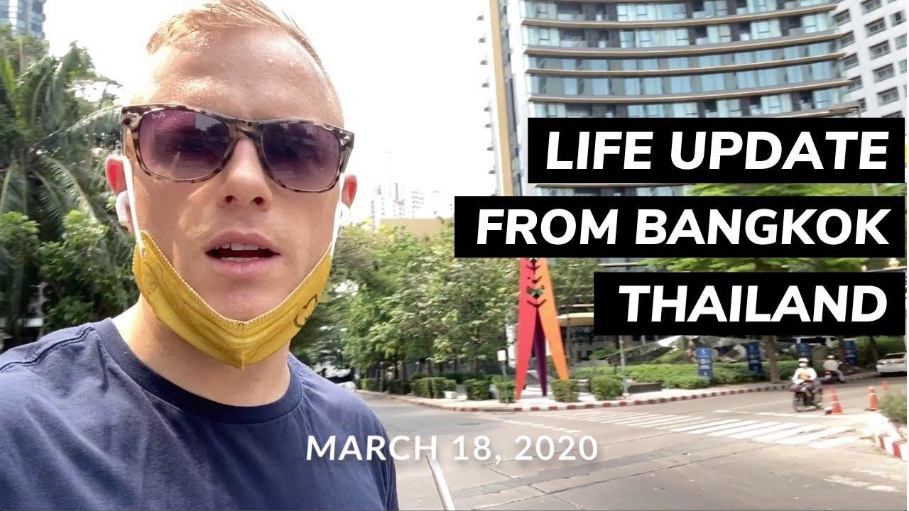 Travel Update 3/18 ??Bangkok Situation, Amazon FBA Sales + Entrepreneur Motivation