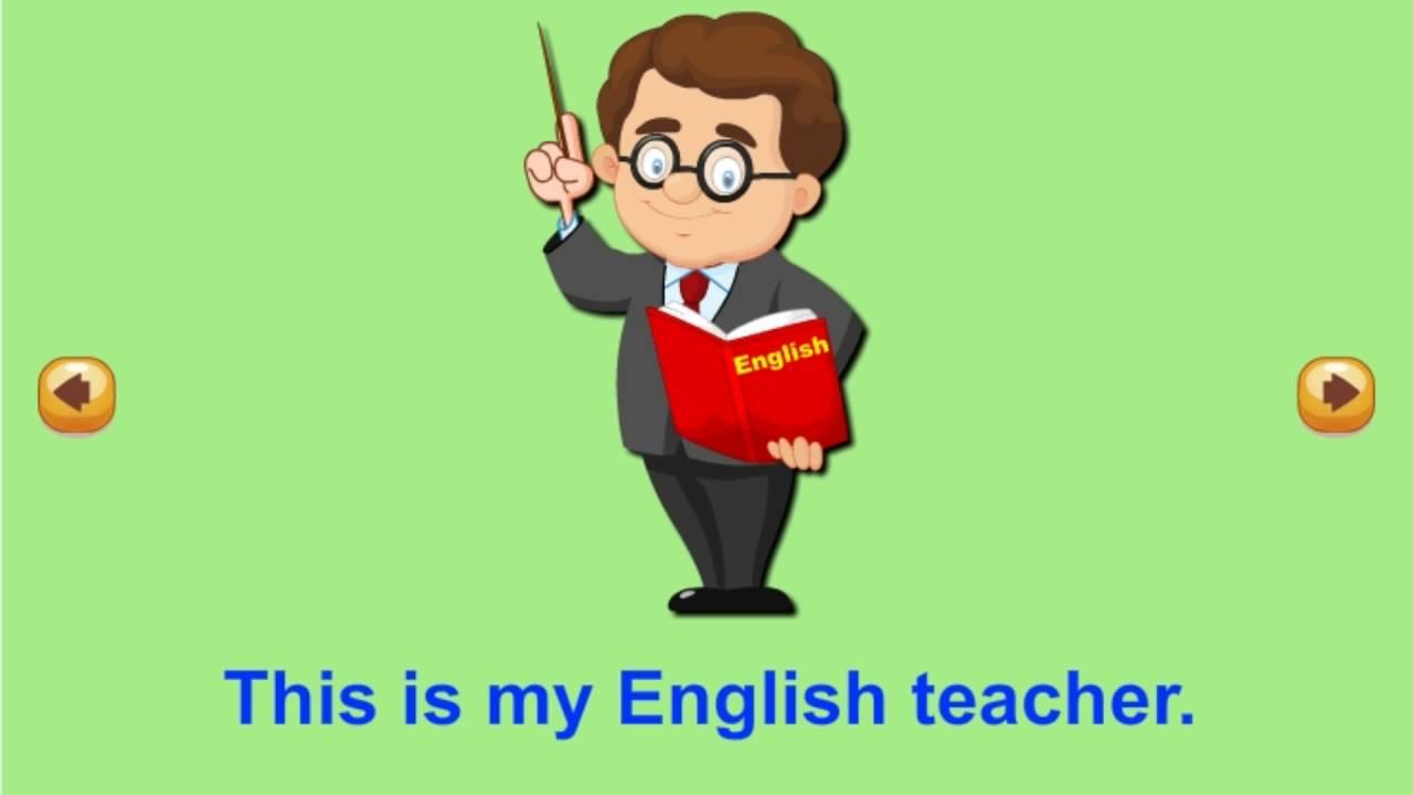 My English teacher is a ......?