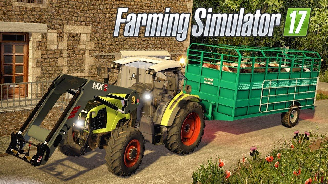 farming simulator 17 nos premiers animaux 6. Black Bedroom Furniture Sets. Home Design Ideas
