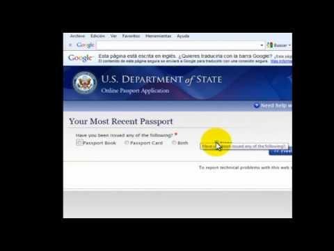 Pasaportes Americanos En Mexico Ds11 Completo Youtube