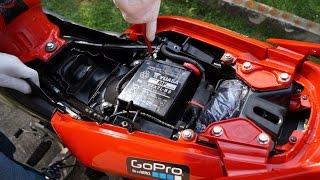 honda cbf 125 battery replacement