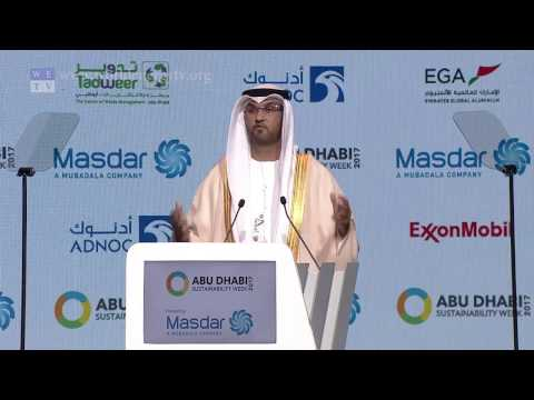 WFES 2017 | Sultan Ahmed Al Jaber, opening keynote at the World Future Energy Summit 2017