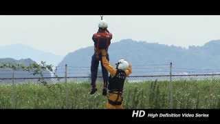 大分県防災航空隊 隊員投入訓練730C