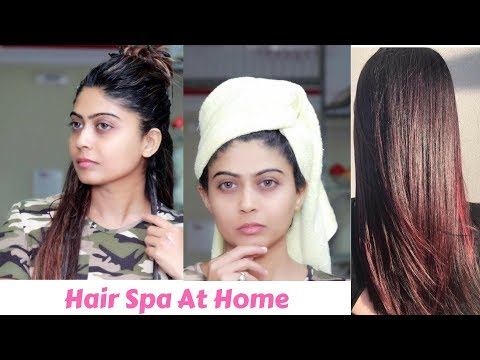How to Do Hair Spa at Home (Hindi) / Rinkal Soni