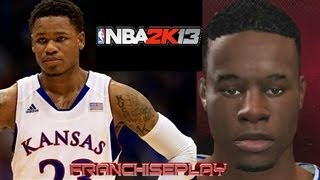 NBA 2K13 - How to Make Ben McLemore (No Commentary) He will appear in my Draft Class 2.0