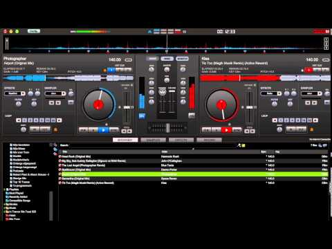 Virtual DJ Trance Mix 140 BPM (7 songs in 9 minutes)