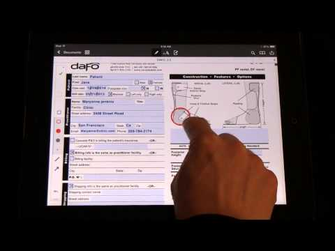 How to | Fill out order forms on an iPad