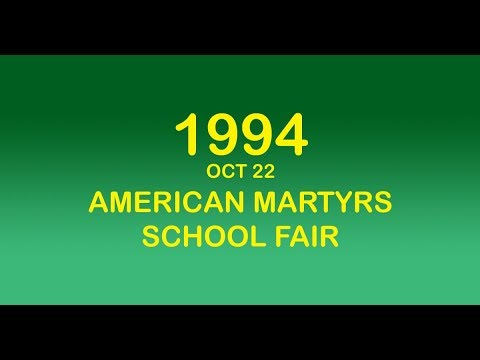 1994 OCT22 AMERICAN MARTYRS SCHOOL FAIR