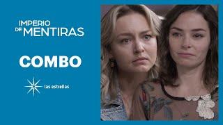Imperio de mentiras: María José le confiesa a Elisa que se enamoró de Cobra | C- 28 | Las Estrellas