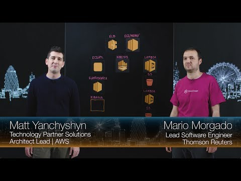 Thomson Reuters Product Insight: Real Time Analytics with Kinesis, Lambda and S3