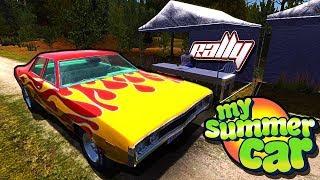 Обзор игры my summer car/катаем на моём сохранение