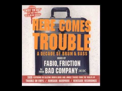 Trouble On Vinyl A Decade Of D&B DJ Friction Mix CD1 (2003)
