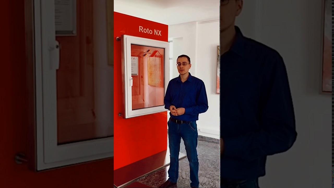 ROTO FRANK - технология защиты окон первых этажей