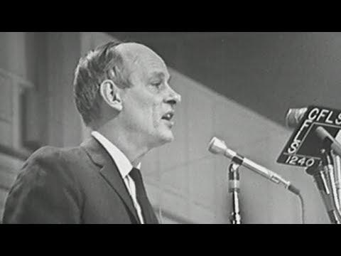 Il y a 50 ans, René Lévesque lançait le Parti québécois