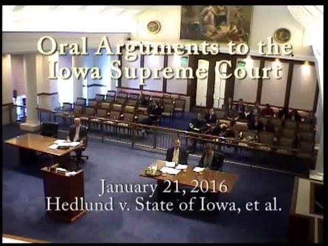 14-1969 Hedlund v. State of Iowa, et al., January 21, 2016