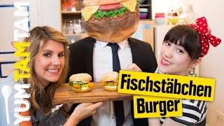 Fischstäbchen-Burger // Crazy Burger #6 // #yumtamtam