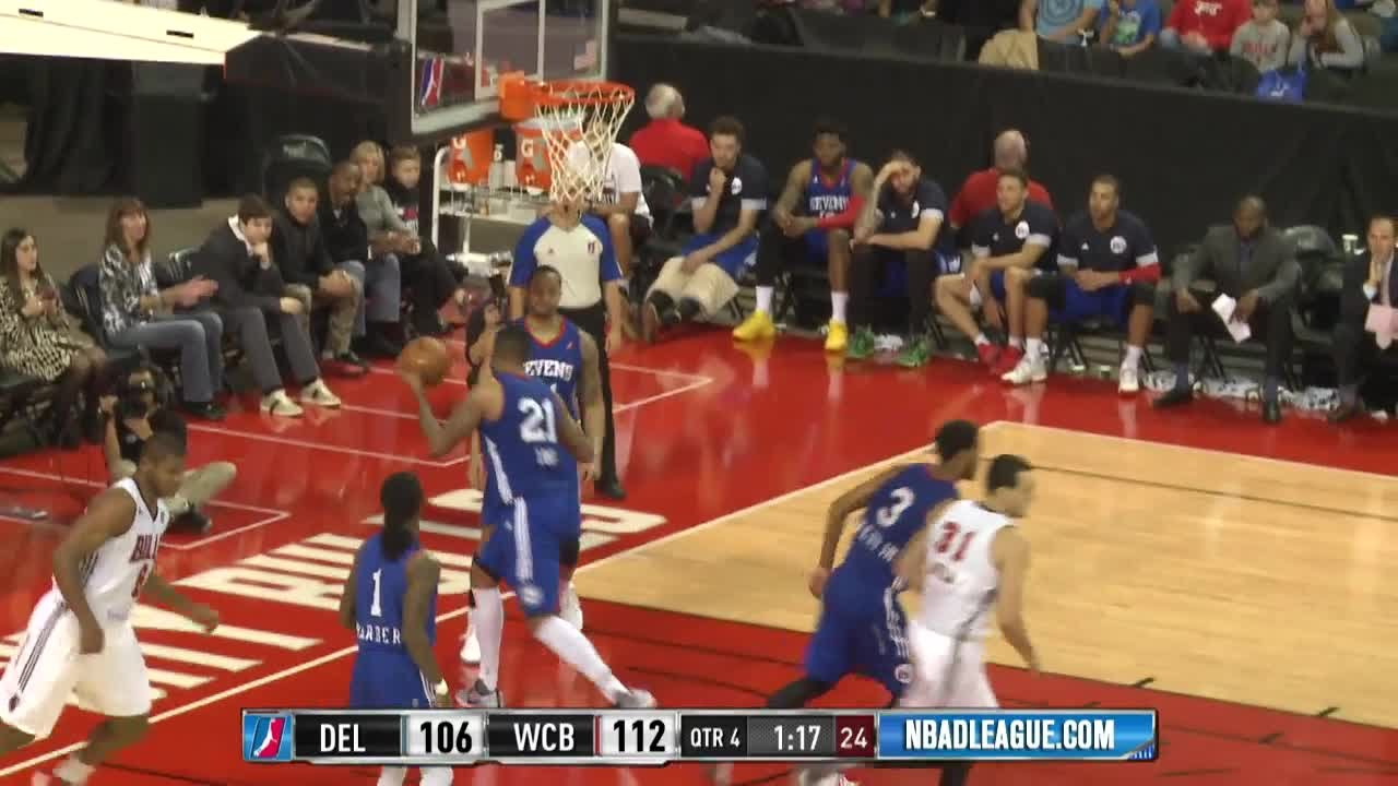 Cristiano Felicio posts 20 points & 12 rebounds vs. the 87ers, 11/26/2016