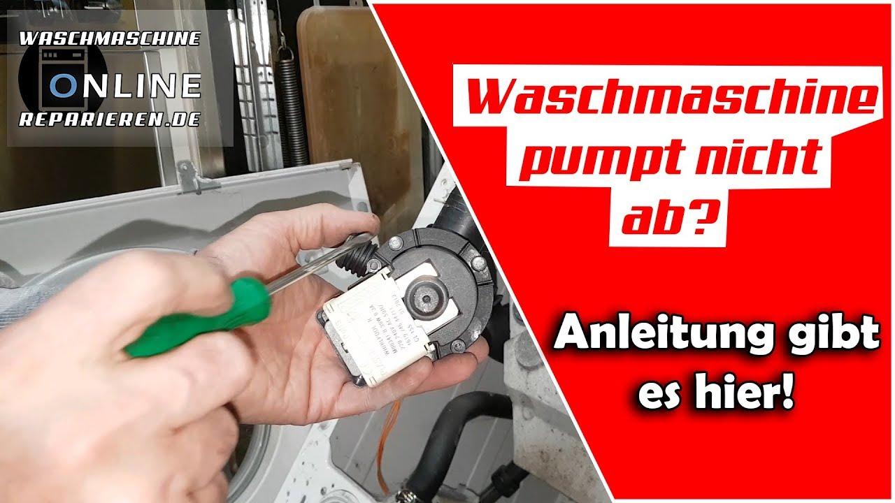 Waschmaschine Pumpt Nicht Ab Waschmaschine Pumpt Das Wasser