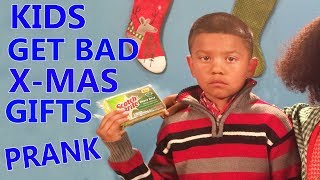TOP 5 Kids REACT To Bad XMAS presents Bad Parents
