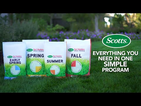 All You Need Is Scotts® Annual Program for a Great Lawn