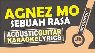 Agnez Mo - Sebuah Rasa ( Karaoke Acoustic )
