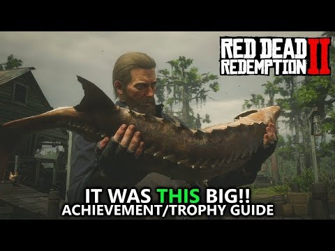 Red Dead Redemption 2 - It Was THIS Big! Achievement/Trophy Guide - HUGE FISH