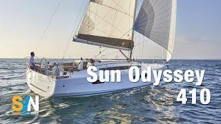 Sun Odyssey 410 - Jeanneau - SVN ON BOARD - Video in 4K