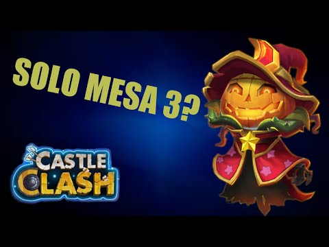 Possible To Solo Mesa 3 Castle Clash?