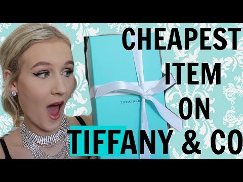 I BUY THE CHEAPEST THING ON TIFFANY & CO.