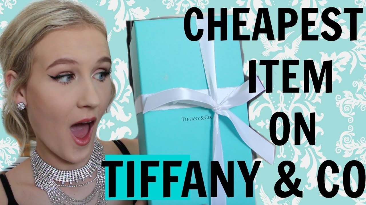 198c5684a I BUY THE CHEAPEST THING ON TIFFANY & CO. - YouTube