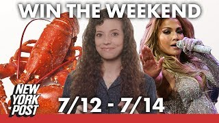Lobsters, witches and J.Lo top this weekend's most fun events   New York Post
