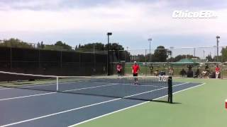 VIDEO: Some action between Chico doubles pair Matt Weeber & Marcus Schwab vs LP duo in EAL tourney.