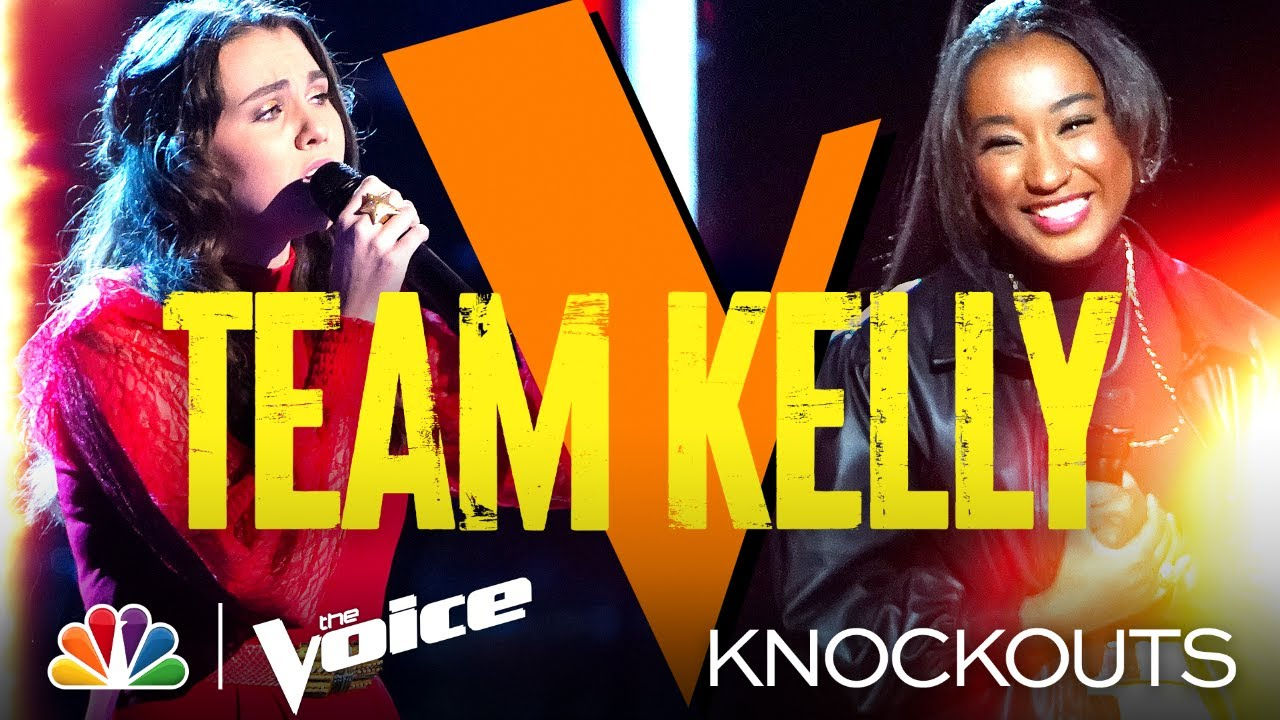 Download Emotional Performances from Team Kelly's Anna Grace and Gihanna Zoë - The Voice Knockouts 2021