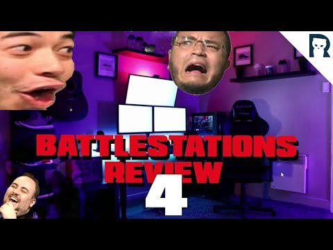 Lirik reviewing viewers' battle stations 4w/ chat reactions
