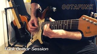 OctaFunk // Funk Guitar Session with Mooer Micro Preamp 005 + Boss OC2