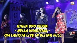 Video #Ninja Opo Vespa - Nella Kharisma - Om Lagista Live In PIPP Blitar Full Album download MP3, 3GP, MP4, WEBM, AVI, FLV April 2018