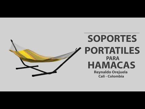 3411a8cba Soporte Portátil Para Hamaca - Vídeo Promocional. - YouTube