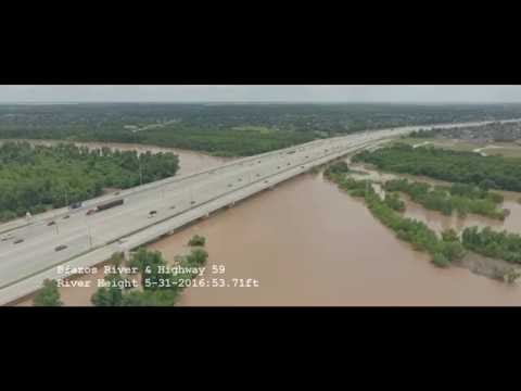 Brazos River and Hwy 59 Flood