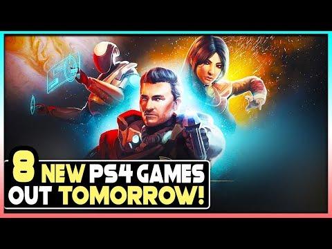 8 NEW PS4 GAMES OUT TOMORROW - New PlayStation 4 Games 3/24