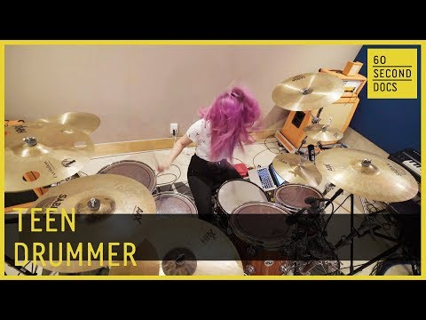 Teen Drummer | The Warning Band // 60 Second Docs