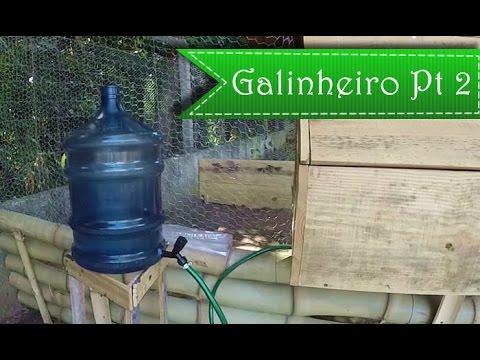 Galinheiro Pt 2 - Bebedouro 20L