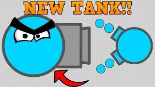 CRAZY NEW DIEP.IO SKIMMER TANK!! // vs Boss // 250K+ First Attempt (Diep.io Update)
