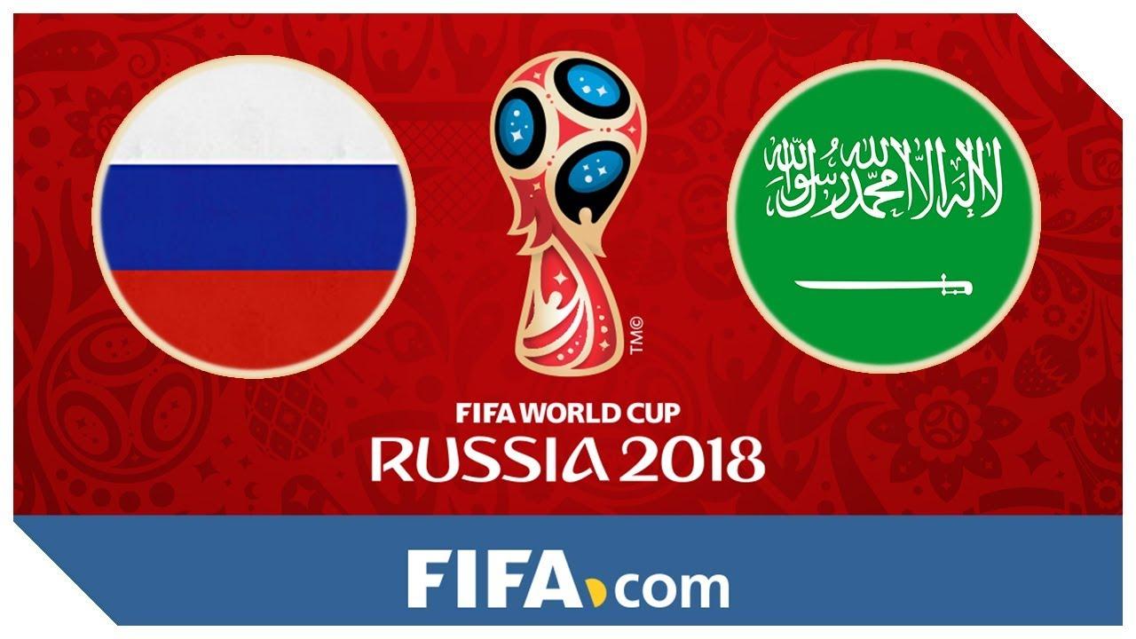 Oroszorszag Vs Szaud Arabia  E A Bd Fifa  Labdarugo Vb